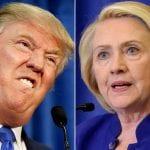 Trump versus Clinton