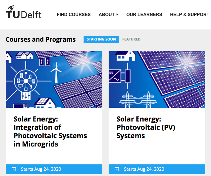 TU Delft online